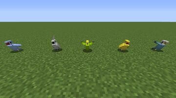 Extended Parrot Skins (Optifine 1.16.5) Minecraft Texture Pack