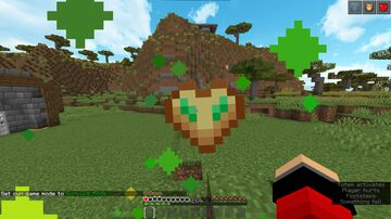 Totem of undying to Hardcore Heart Minecraft Texture Pack