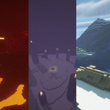 Phantoms dimension loading screens Minecraft Texture Pack