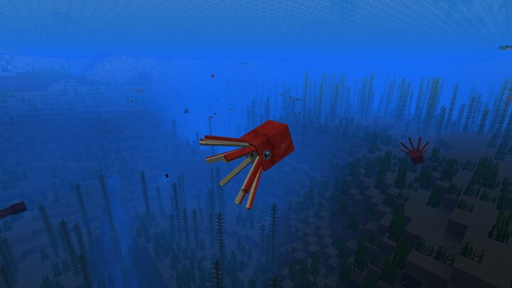 and that colors makes the squid invisible to predators at great depths