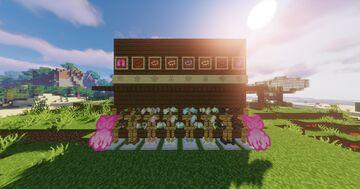 Flower Armor 32x (Pink Elytra) Minecraft Texture Pack