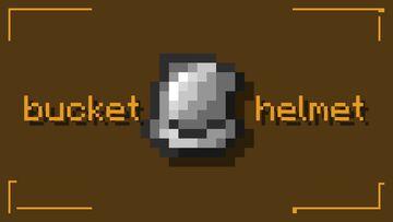 Bucket o' Helmet Minecraft Texture Pack