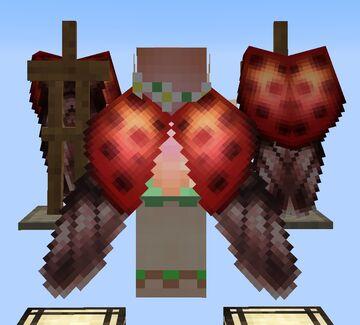 Ladybug Elytra Wings 32x Minecraft Texture Pack
