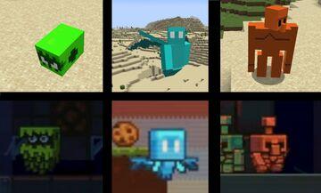 2021 voting mobs Minecraft Texture Pack