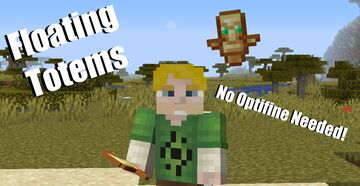 (Floating Totems) Animations, Axolotls, and Hermits oh my. Minecraft Texture Pack