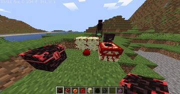 The End = The Nether Minecraft Texture Pack