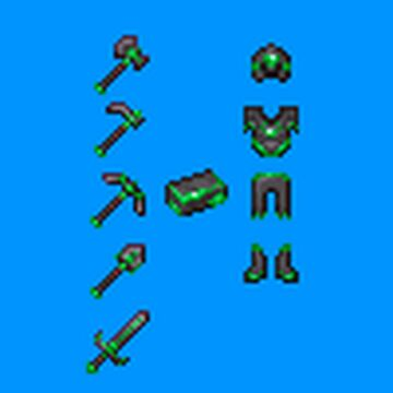 Ancient and Decked: Emerald Glided Netherite 1.17+ - 1.16+ Minecraft Texture Pack