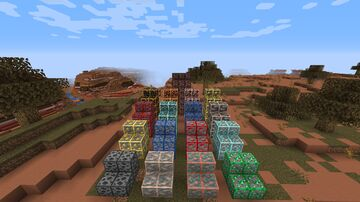 Ore Borders for 21w08a Minecraft Texture Pack