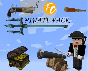 Fizzy Chickens 3D Pirate Pack!!! Minecraft Texture Pack