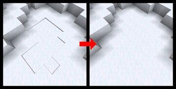 Seamless Powder Snow Minecraft Texture Pack
