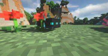 Warden Axolotls! Minecraft Texture Pack