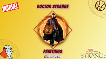Doctor Strange Paintings Minecraft Texture Pack