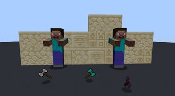 The old times Minecraft Texture Pack