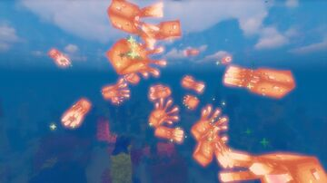 Rainbow Glow Squids Minecraft Texture Pack