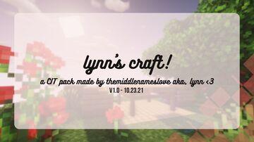 lynn's craft! (CIT) v1.0 (10/23/21) Minecraft Texture Pack