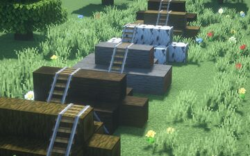 OceanBean better logs Minecraft Texture Pack