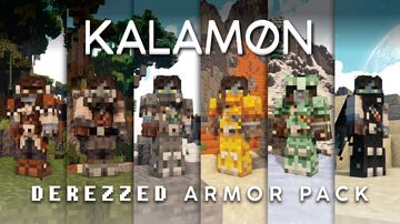 Kal's Derezzed Grimdark Armor Minecraft Texture Pack