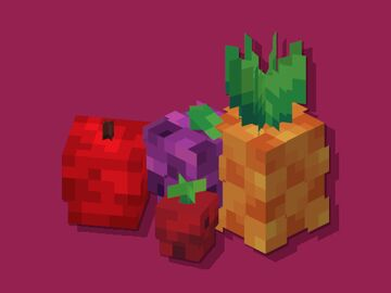 Fake Fruits Minecraft Texture Pack