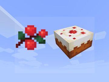 sweet berries Minecraft Texture Pack