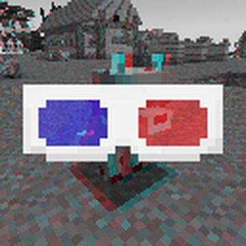 3D Anaglyph Minecraft Texture Pack