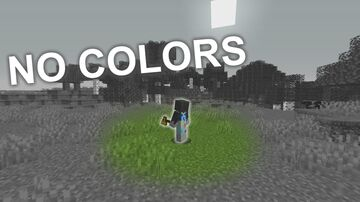 Minecraft, but everything is black and white! Minecraft Texture Pack