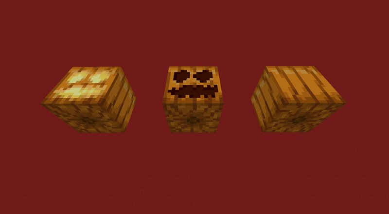 Randomize it fixes the ugly way pumpkins uses their top texture as also their bottom texture, and even darkens the bottom texture to fix the shading inconsistencies!