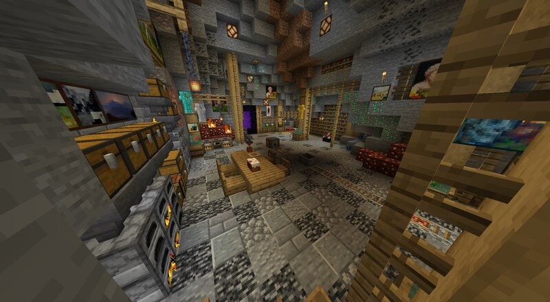 A small underground home before Randomize It