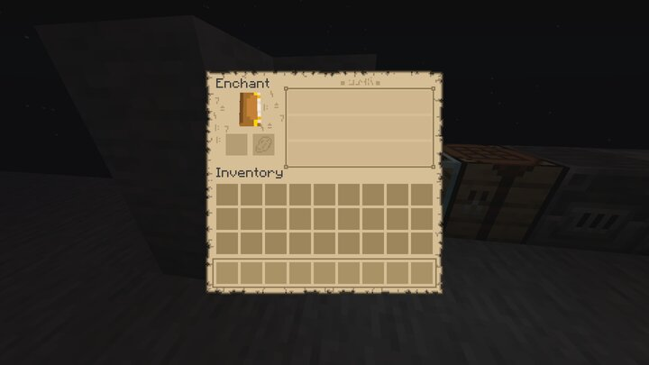 Enchanting table v1.1