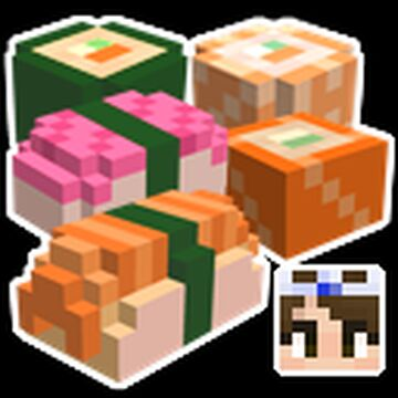 Sushi Minecraft Texture Pack