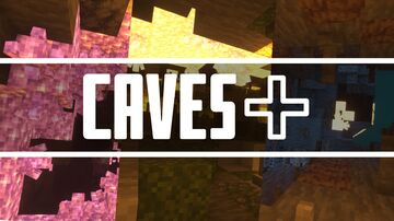 Caves Plus Minecraft Texture Pack