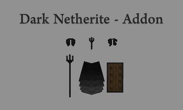 Dark Netherite - Addon Minecraft Texture Pack