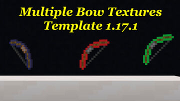 Multiple Bow Resource Pack Template [1.17.1] Minecraft Texture Pack