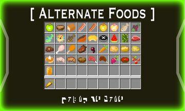 Hobbeswyn's Alternate Foods Minecraft Texture Pack
