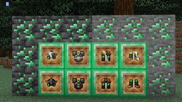 Netherite emerald edit  VERSION 1 Minecraft Texture Pack
