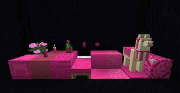 Pink to Rose Minecraft Texture Pack