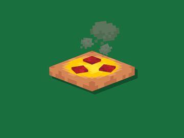 Pizza Minecraft Texture Pack