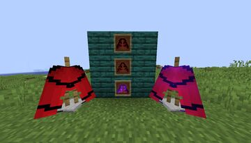 Red Elytra Minecraft Texture Pack