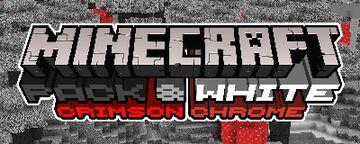 Pack & White - Crimson Chrome Minecraft Texture Pack