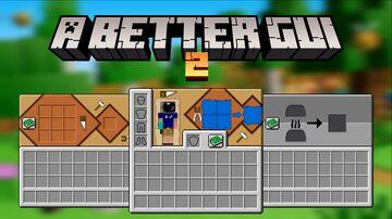 A Better GUI 2 Minecraft Texture Pack