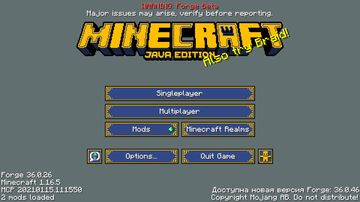 Royal Inventory Blue Minecraft Texture Pack