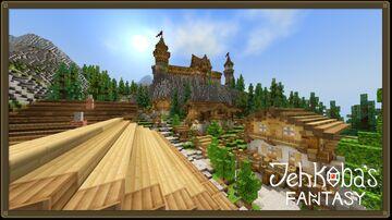 Jehkoba's Fantasy (Bedrock) Minecraft Texture Pack