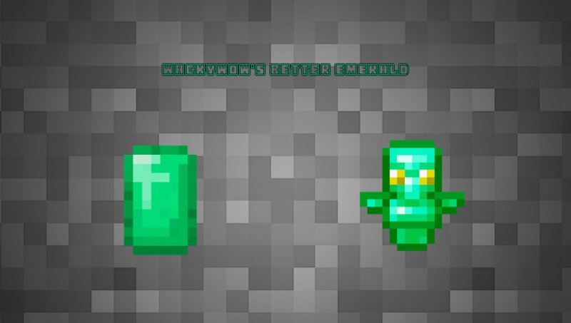 emerald items. totem cannot be crafted