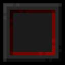 Dark Mode with a Hint of Red (better font included!) Minecraft Texture Pack