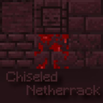 Chiseled Netherrack [Optifine is required!] Minecraft Texture Pack