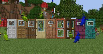 Windowed Doors Minecraft Texture Pack