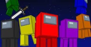Among Us Armors Minecraft Texture Pack