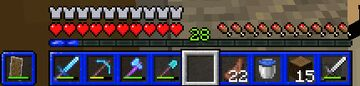 Blue GUI Resource Pack Minecraft Texture Pack