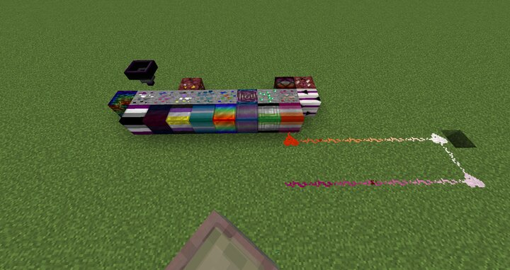 Heres the Blocks and redstone