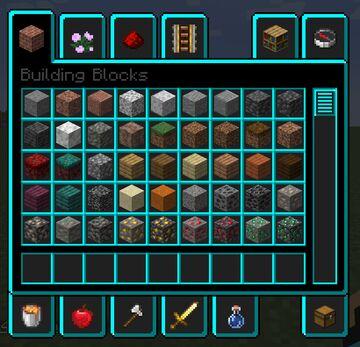 Oakljens Light Blue Gui Minecraft Texture Pack
