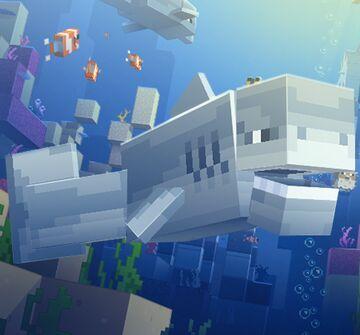 Shark (optifine) only 1.16.5 Minecraft Texture Pack